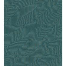 Rasch Tapete Selection Vinyl/Vlies 404005 Gold, Blau 0.53 x 10.05 m