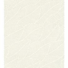 Rasch Tapete Selection Vinyl/Vlies 404012 Creme, Silber 0.53 x 10.05 m
