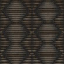 Rasch Tapete Selection Vinyl/Vlies 406450 Schwarz 0.53 x 10.05 m