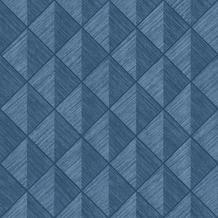 Rasch Tapete Selection Vinyl/Vlies 407433 Blau 0.53 x 10.05 m