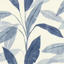Rasch Tapete Selection Vinyl/Vlies 407532 Weiß, Grau, Blau 0.53 x 10.05 m