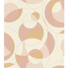 Rasch Tapete Selection Vinyl/Vlies 533019 Rosa 0.53 x 10.05 m