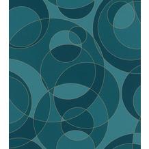 Rasch Tapete Selection Vinyl/Vlies 533026 Blau 0.53 x 10.05 m