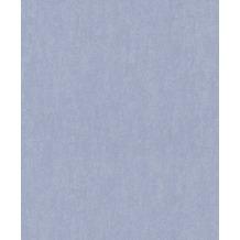 Rasch Tapete Uptown Uni 402308 Blau