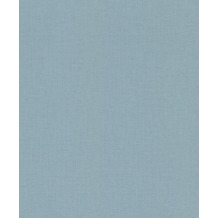 Rasch Tapete Uptown Uni 402469 Blau