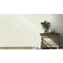 Rasch Tapete Vanity Fair II Motiv 525410 weiß creme glänzend