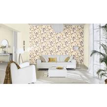 Rasch Tapete Vanity Fair II Motiv 525731 beige mehrfarbig