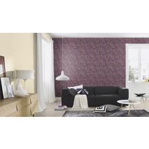 Rasch Tapete Vanity Fair II Motiv 525755 lila mehrfarbig