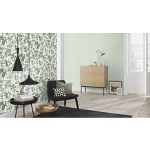 Rasch Tapete Vanity Fair II Motiv 526158 blau grün beige