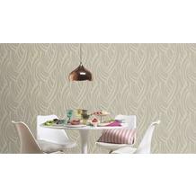 Rasch Tapete Vanity Fair II Muster 524529 beige glänzend