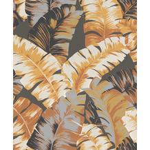 Rasch Tapete Yucatán 535631 Grau, Braun, Creme, Schwarz 0.53 x 10.05 m