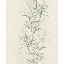 Rasch Vlies Tapete Muster & Motive 536003 Rock´n Rolle Weiß 0.53 x 10.05 m
