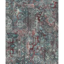 Rasch Vlies Tapete Muster & Motive 536546 Barbara Home Collection II Blau-petrol 0.53 x 10.05 m