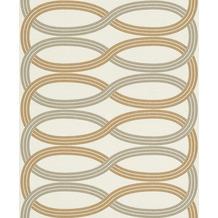 Rasch Vlies Tapete Muster & Motive 541731 Glam Gold-goldgelb 0.53 x 10.05 m
