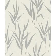 Rasch Vlies Tapete Muster & Motive 541922 Glam Silber-silber schimmer 0.53 x 10.05 m