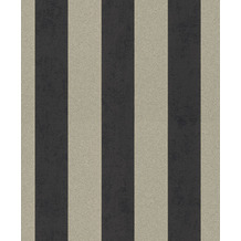 Rasch Vlies Tapete Muster & Motive 542363 Glam Schwarz-Anthrazit 0.53 x 10.05 m