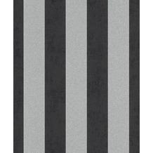 Rasch Vlies Tapete Muster & Motive 542370 Glam Schwarz-Anthrazit 0.53 x 10.05 m