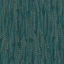 Rasch Vlies Tapete Muster & Motive 550245 Highlands Blau-dunkelpetrol 0.53 x 10.05 m