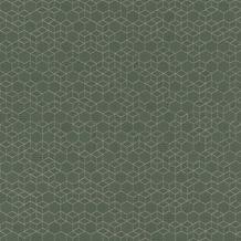 Rasch Vlies Tapete Muster & Motive 550351 Highlands Oliv-Olivgrün dunkel 0.53 x 10.05 m