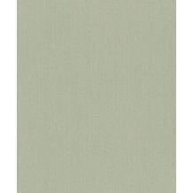 Rasch Vlies Tapete Uni 536133 Rock´n Rolle Grün 0.53 x 10.05 m