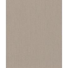 Rasch Vlies Tapete Uni 536140 Rock´n Rolle Braun 0.53 x 10.05 m