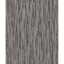 Rasch Vlies Tapete Uni 536324 Barbara Home Collection II Schwarz-anthrazitgrau 0.53 x 10.05 m