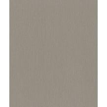 Rasch Vlies Tapete Uni 536843 Barbara Home Collection II Grau-Steingrau 0.53 x 10.05 m