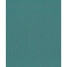 Rasch Vlies Tapete Uni 537161 Barbara Home Collection II Blau-petrol 0.53 x 10.05 m
