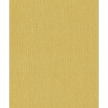 Rasch Vlies Tapete Uni 537192 Barbara Home Collection II Gelb-ocker 0.53 x 10.05 m