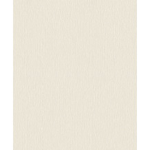 Rasch Vlies Tapete Uni 541434 Rock´n Rolle Weiß 0.53 x 10.05 m