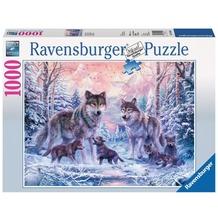 Ravensburger Premiumpuzzle im Standardformat - Arktische Wölfe