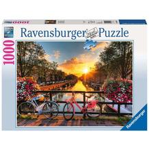 Ravensburger Premiumpuzzle im Standardformat - Fahrräder in Amsterdam