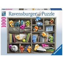 Ravensburger Premiumpuzzle im Standardformat - Gelini im Bücherregal