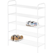 Reality Import Schuhregal ALEXA 4 weiß lackiert 80x30x104(H)cm