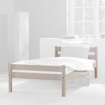 relita Einzelbett HELGA inkl. Rollrost lackiert Breite 140 weiß