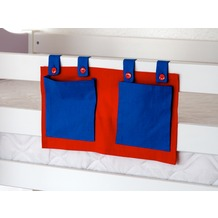relita Stofftasche für Hoch- und Etagenbetten blau/rot