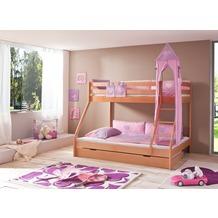 relita Turm-Set groß purple/rosa-Herz