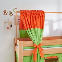 relita Zeltstoffset für Spielbett LEO grün/orange