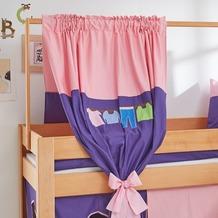 relita Zeltstoffset für Spielbett LEO rosa/violett-Kleider