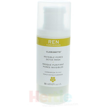 Ren Invisible Pores Detox Mask 50 ml