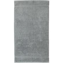 RHOMTUFT Frottierserie PRINCESS kiesel Duschtuch 70 x 130 cm