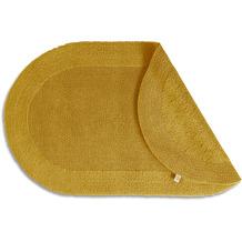 RHOMTUFT Badteppich PRESTIGE/EXQUISIT gold 50 x 75 cm oval