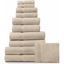 RHOMTUFT Handtuch PRINCESS, beige 55 x 100