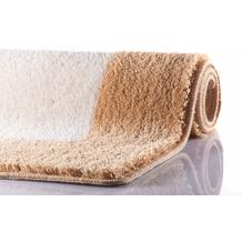 RHOMYhome Badteppich LIBERTY beige/weiß 50x60 cm