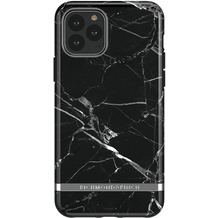 Richmond & Finch Black Marble - Silver details for iPhone 11 Pro Max / XS Max colourful