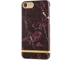 Richmond & Finch Marble Glossy for iPhone 7 rot