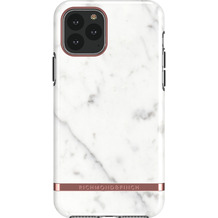 Richmond & Finch White Marble - Rose gold details for iPhone 11 Pro Max / XS Max colourful