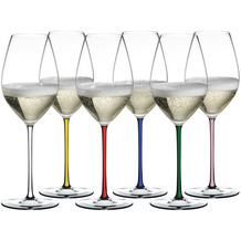 Riedel FATTO A MANO GIFT SET CHAMPAGNE GLASS 6er-Set