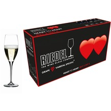 Riedel Heart To Heart Champagner Glas