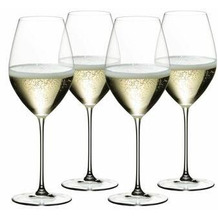 Riedel Veritas Champagne Wine Glass 265 JAHRE 4er Set